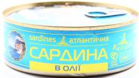 Сардина Baltijas атлантична в олії 240г
