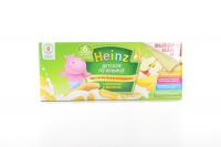 Печиво Heinz дитяче банан та яблуко 160г х6