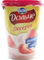 Десерт Lactel Дольче Полуниця 3,4% 400г х6