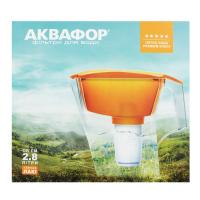 Фільтр для води Аквафор Глек Лакі 2,8л помаранчевий