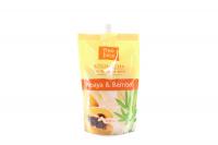 Крем-піна для ванн Fresh Juice Papaya & Bamboo, 500 мл (дой-пак)