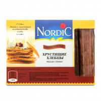 Хлібці Nordic хрусткі зі злаків Багатозернові 100г