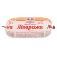 Ковбаса Бащинський Лікарська варена ш/о в/ґ 0.5кг х6