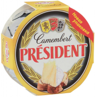 Сир President Camembert м`який 60% 120г х12