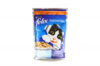 Корм Felix Fantastic з індичкою для котів 100г х60