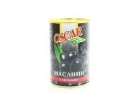 Оливки Oscar чорні з/к 300г х12