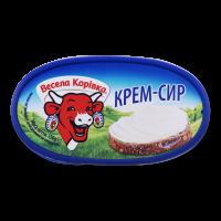 Сир плавлений Весела Корівка Крем-сир 150г х12