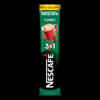 Напій кавовий Nescafe Turbo 3в1 стік 13г х20
