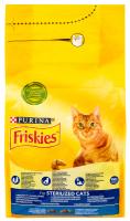 Корм Purina Friskies для стерілізованих котів 1,5кг