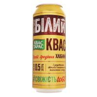 Квас Квас Тарас білий хлібний 0,5л з/б х12