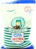 Сіль Морячка Екстра йодована харчова 1кг