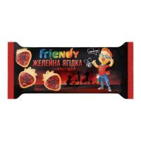 Печиво Delicia Friendy Желейна ягідка 200г х16