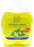 Мило Flower Shop рідке Зелений чай 300мл х6