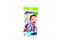 Нагрудник дитячий Libero з кишенею 10шт.