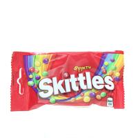 Драже Skittles Fruits фрукт. у глазурі 38г х20