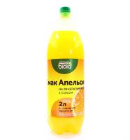 Вода Біола Смак Апельсина на мінеральній воді 2л х6