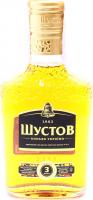 Коньяк Одеса Шустов 3* 0,25л 40% х6