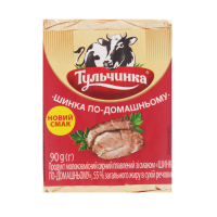 Продукт сирний плавлений Тульчинка Шинка по-домашньому 90г