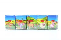 Хустки Zewa Kids носові паперові з тисненням 10шт x10