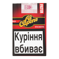 Сигари Al Capone Pockets Red Filter 10шт