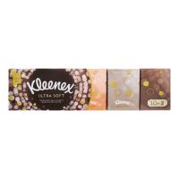 Хустинки носові паперові Kleenex Ultra Soft, 10 пачок