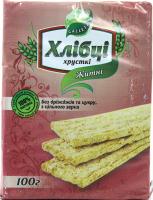 Хлібці Galleti Житні без дріжджів та цукру 100г
