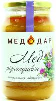 Мед Медодар Різнотрав`я натуральний квітковий 1150г
