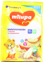 Каша Milupa Nutricia молочна з грушею та сухариками 210г х9