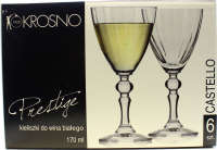 Бокал Krosno набір для вина 6шт 170мл арт.367491