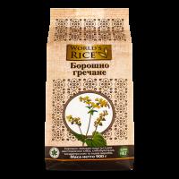 Борошно World`s Rice гречане 900г х6