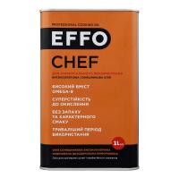 Олія Effo соняшникова Chef 1л