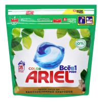 Засіб Ariel для прання Color з маслом ши капсули 35*23,8г х6