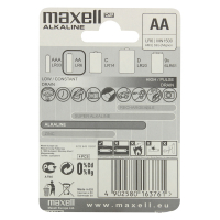 Батарейки Maxell Alkaline AA LR 6-MN1500 4шт х10