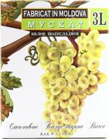 Вино Alianta B&B Muscat біле нап/солодке 3л