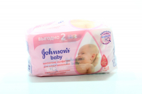 Серветки Johnsons Baby дитячі Без ароматизаторів 112шт  х6