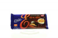 Шоколад Wedel темний з начинкою Крем Брюлле 100г