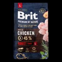 Корм Brit для собак сухий Пеміум Едалт L 3кг х6