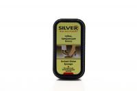 Губка для блиску шкіряного взуття Silver Instant Shine Sponge Безбарвна