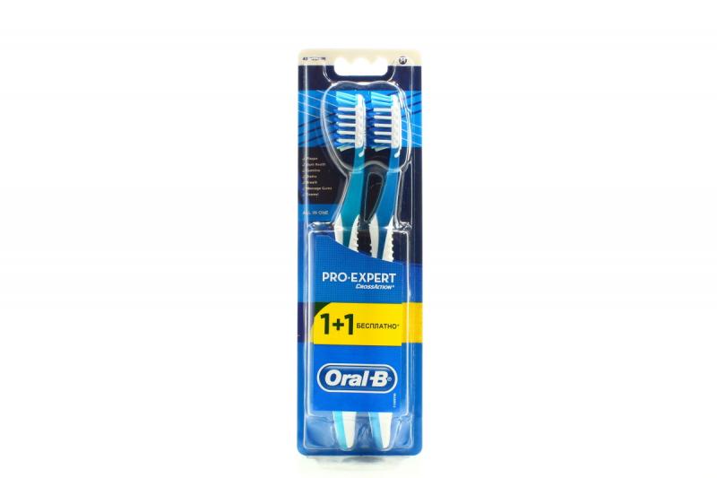 ... Зубна щітка Oral-B Pro-Expert CrossAction medium 1шт+1шт х6 ... 945048edd857f