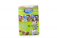 Подушечки Start із какао начинкою 250г х16