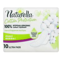 Гігієнічні прокладки Naturella Cotton Protection Maxi, 10 шт.