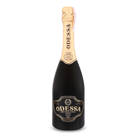 Вино ігристе 0.75л 10.5-12.5% Brut Odessa