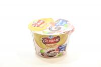 Десерт Lactel Дольче полуниця-ківі з шоколадом 3,4% 200г х12