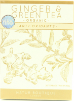 Чай органічний Fito Organic Green tea Ginger 20*2г