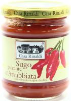 Соус Casa Rinaldi томатний пікантний Аррабьята 190г