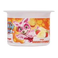 Йогурт Danone Marvel суниця-банан 2% 115г х12