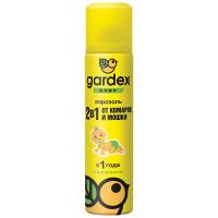 Аерозоль Gardex Baby від комарів та мошок 80мл