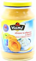 Пюре Hame абрикос із сиром 190г х10