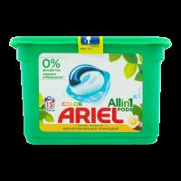 Засіб Ariel миючий в капсулах Color 3в1 15кап. х6