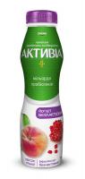 Йогурт Danone Активіа безлактозний Персик-гранат 1,3% 290г